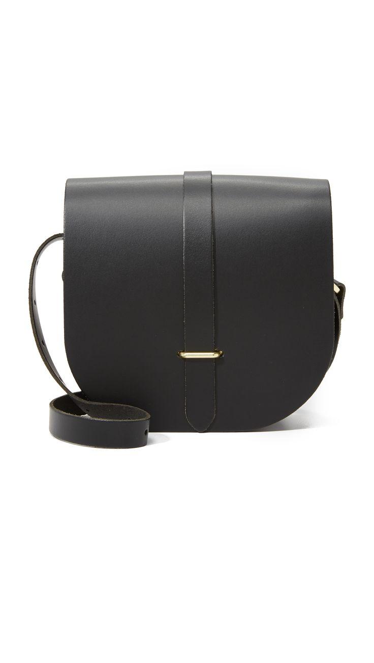 Cambridge Satchel Saddle Bag - Black | SHOPBOP.COM saved by #ShoppingIS