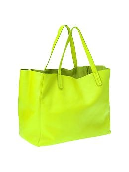 Leather tote | Gap $125     Great Caesar's ghost, I need 5 of these, and 5 in the bright royal purple as well.