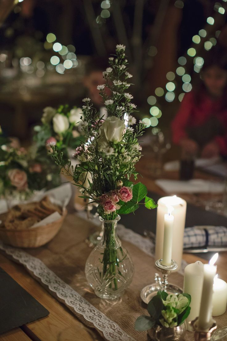 Tipis, Tweed and Jenny Packham for a Glamorous and Handmade Winter Wedding