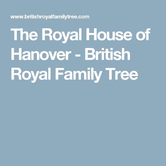 The Royal House of Hanover - British Royal Family Tree