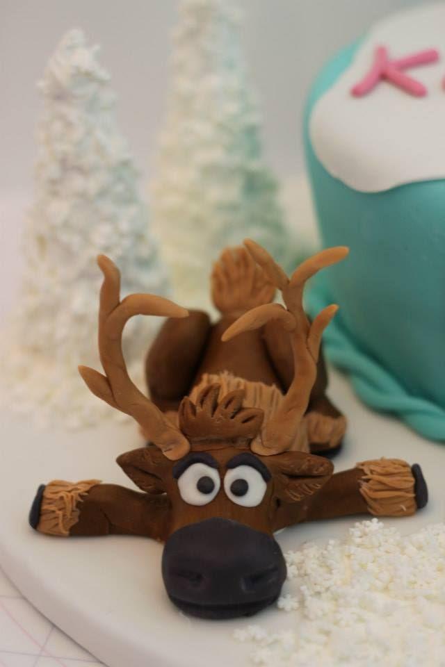 Disney Frozen Cake Sven Cakes N Ideas Pinterest