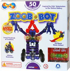 ZOOB-BOT - great gift find!: Gizmos Zoob Bots, Comics Book, Most Popular, Gift Ideas, Gizmos Zoobbot, Toys, Buildings, 50 Piece, Christmas Gift