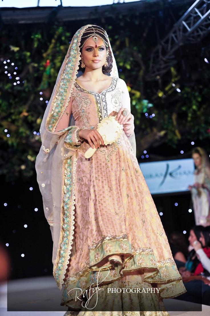Pastel Pink Dress Pakistani Bridal Wedding Dresses