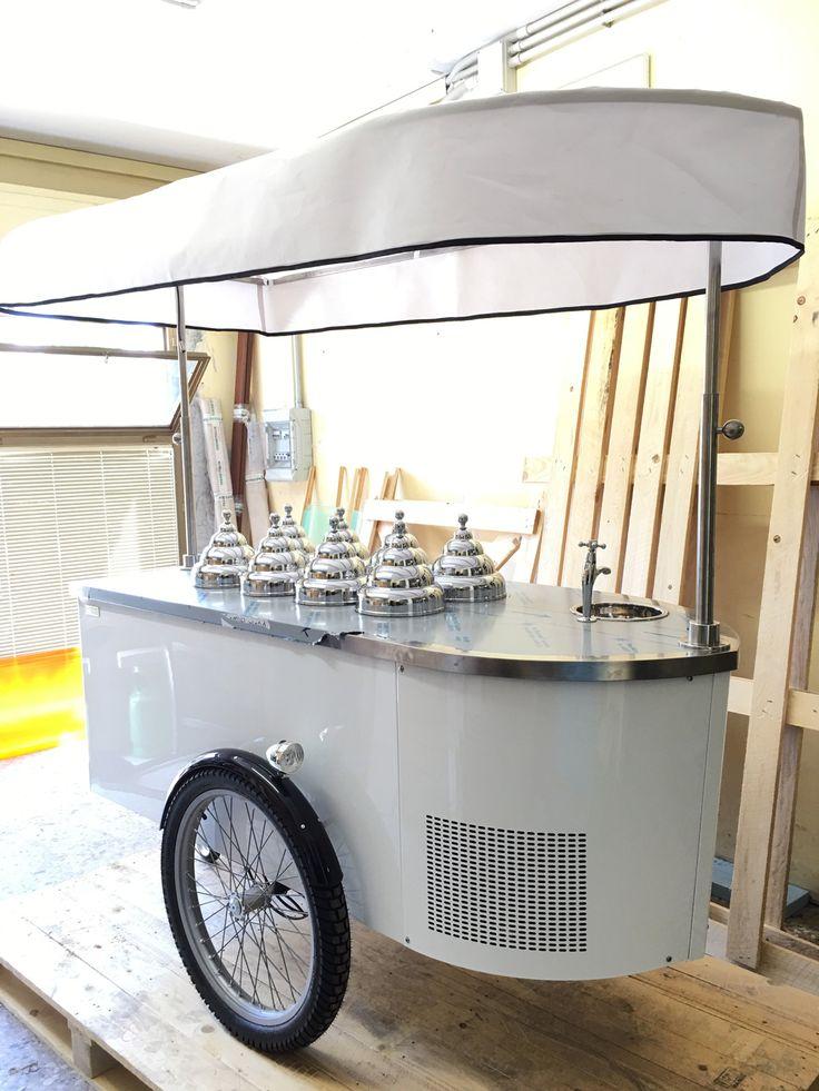 #tekneitalia #icecreamcart #gelatocart #foodbusiness #foodtruck #gelato #wedding #banqueting
