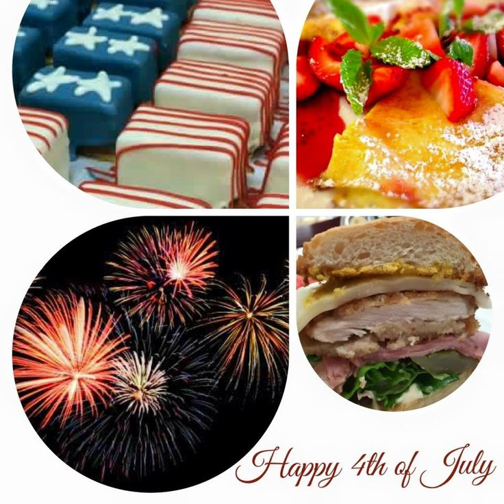 Join us Saturday, Sunday, Monday & Tuesday for a delicious 4th of July Brunch! #santabarbara #july4  EGGS BENEDICT NAPOLEON'S Omelettes VIKING MIMOSAS Croissant French Toast  Filet Mignon Eggs Benedict