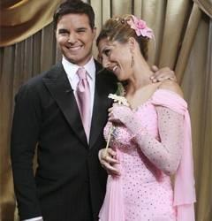 Jonathan Roberts and Monica Seles