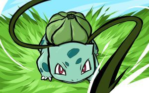 Bulbasaur | Vine Whip by ishmam