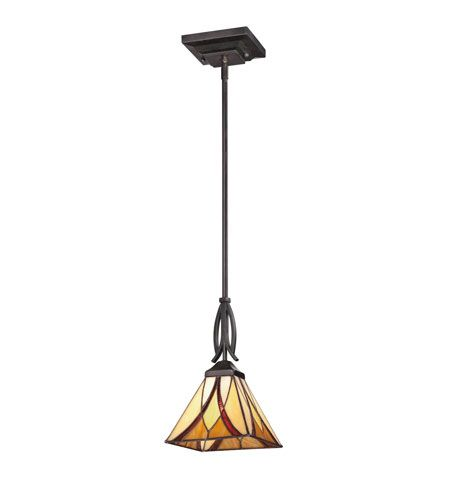 quoizel tfas1507va asheville 1 light 7 inch valiant bronze mini pendant ceiling light