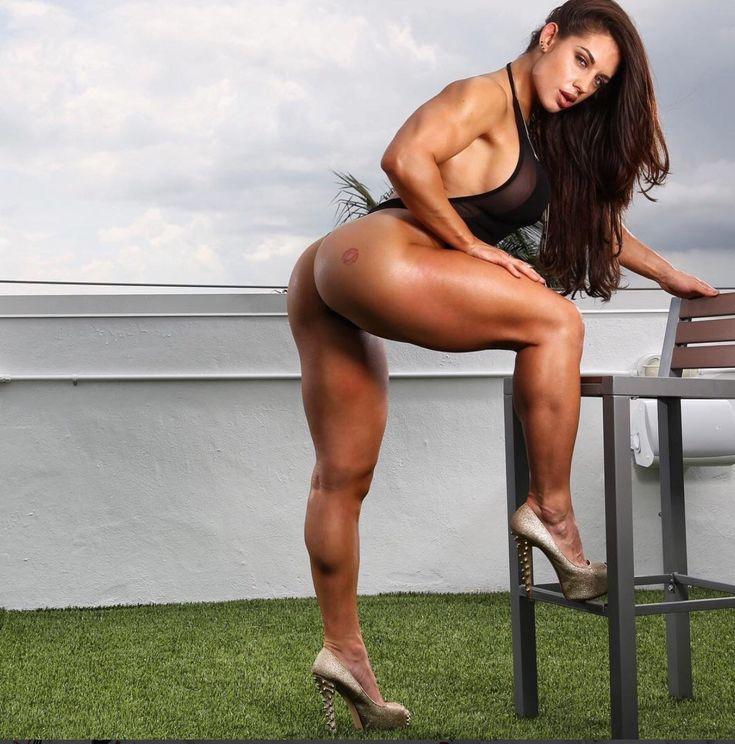 Muscle legs nude #7