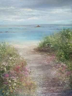 Amanda Hoskin - Path Down to the Beach ,Scillies- BTW London