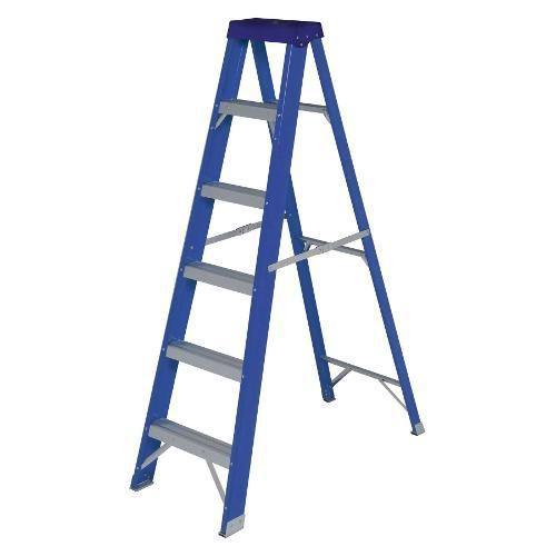 Escada Fibra De Vidro Dupla Mor - Shoptime.com
