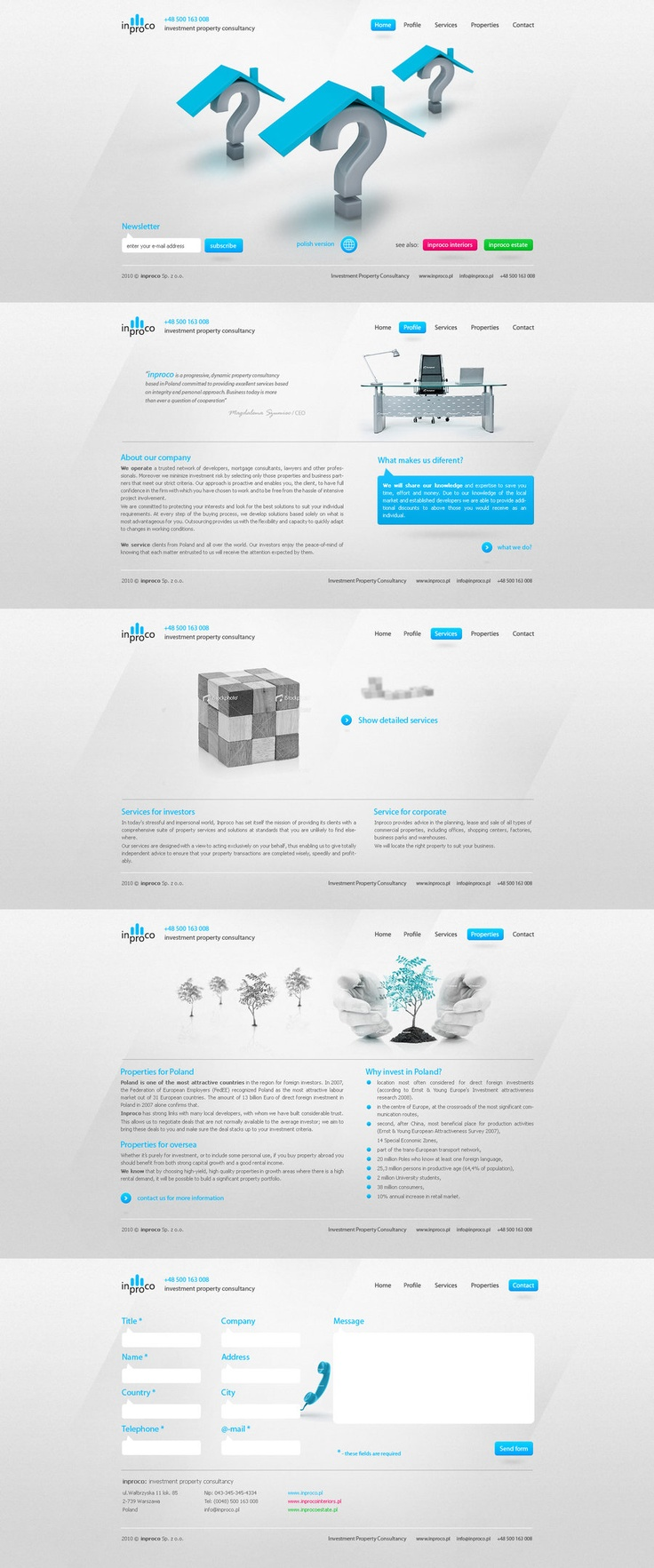 clean web design - #web #design
