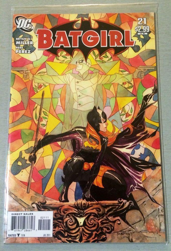 DC - Batgirl- Issue # 21 - 1st Print