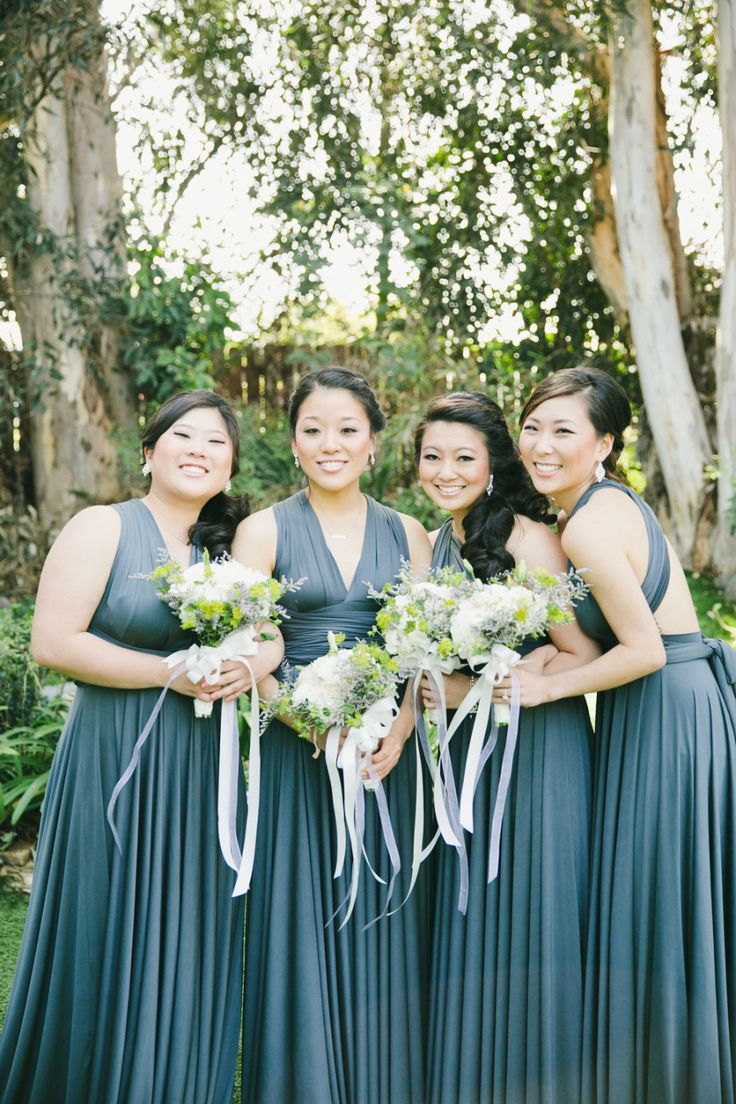 Beautiful Bridesmaids Dresses For Autumn |Photography Onelove Photography: