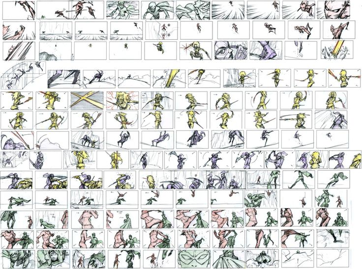 Best Storyboards Images On   Aliens Storyboard And