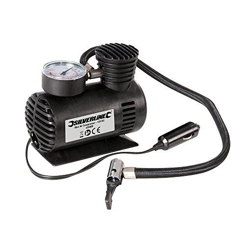 Silverline Mini- Druckluftkompressor, 12 V DC - http://autowerkzeugekaufen.de/silverline/silverline-mini-druckluftkompressor-12-v-dc
