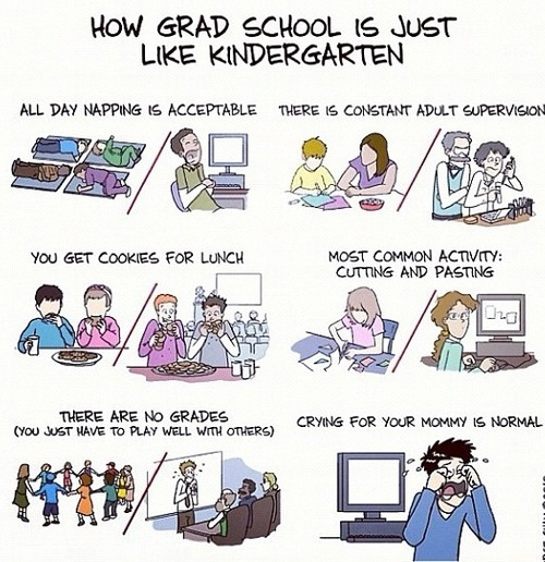 grad school problems | Tumblr. This is real.