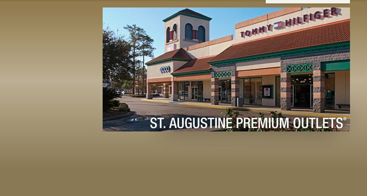 St. Augustine Premium Outlets! Where you can find all your fashion needs. We talked on Wednesday about the British Fashion Invasion