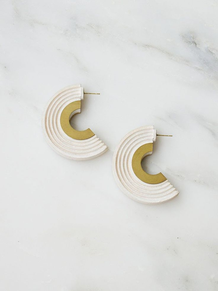 Curve Hoops by Wolf & Moon