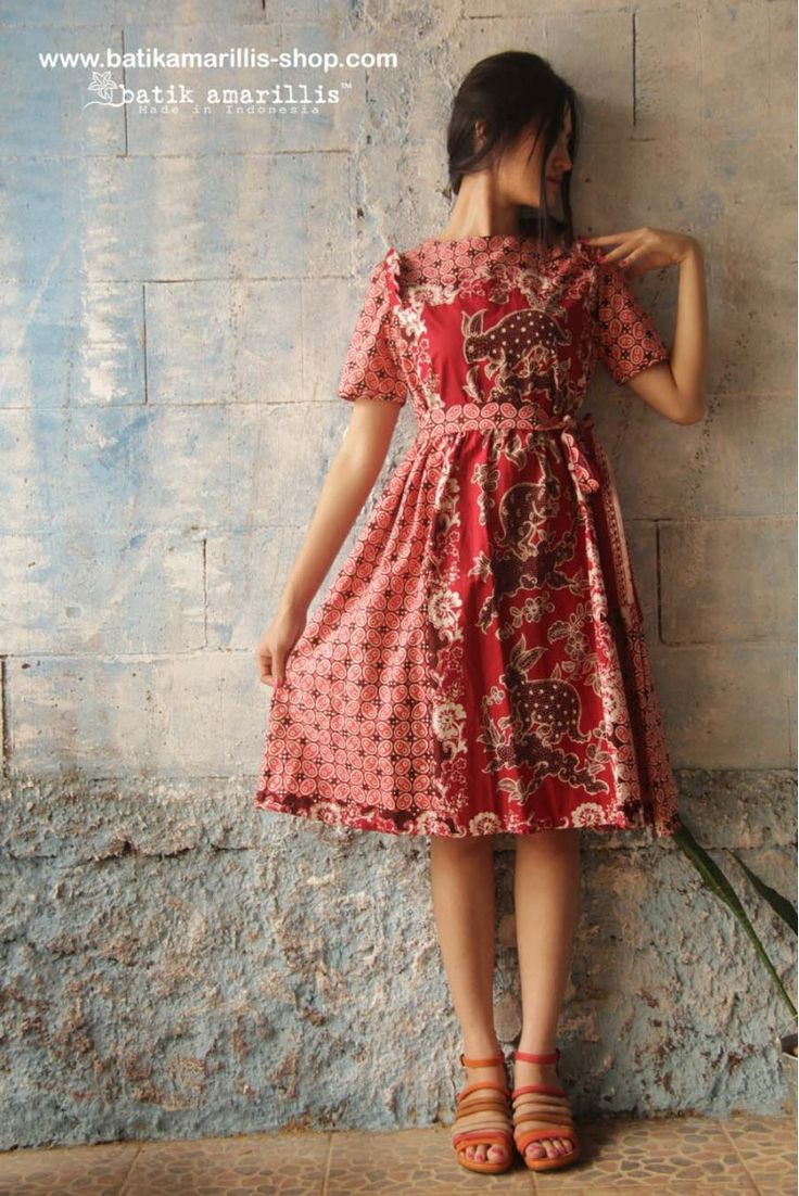 batik amarillis's innocencia dress www.batikamarillis-shop ...