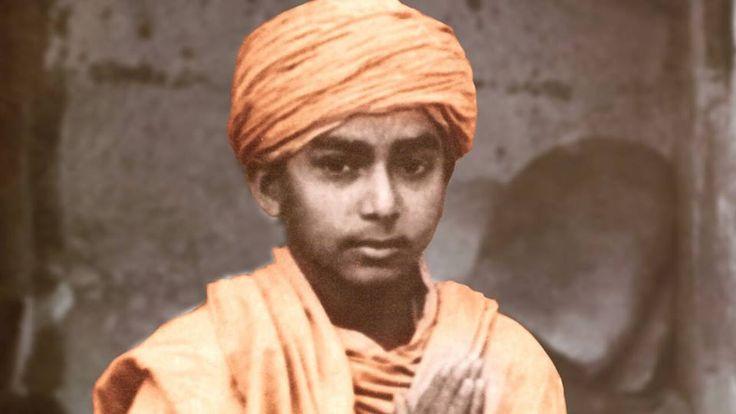 Pramukh Swami when young