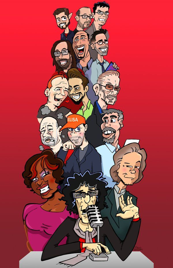 The greatest crew in the history of radio is back. 5 MORE YEARS…starts NOW. #Howard #Howardsback (@MikeHamptonArt)