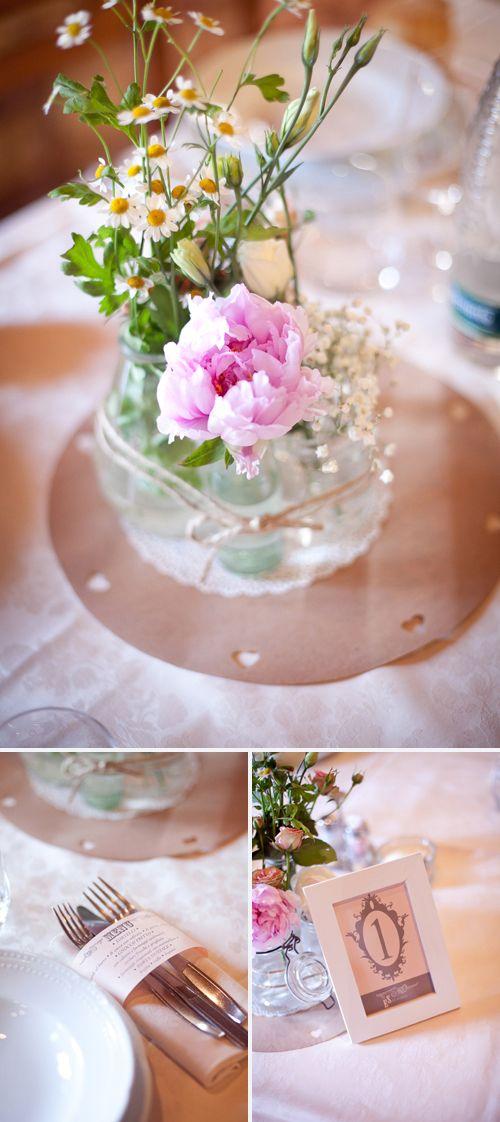 wedding diy table decor.