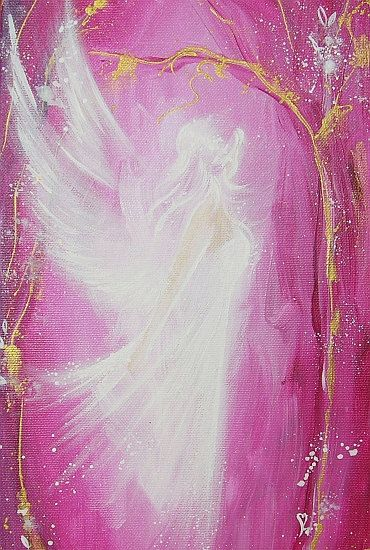 """Limited angel art photo """" guardian angel"""" , modern angel painting, artwork, picture frame, gift,"""