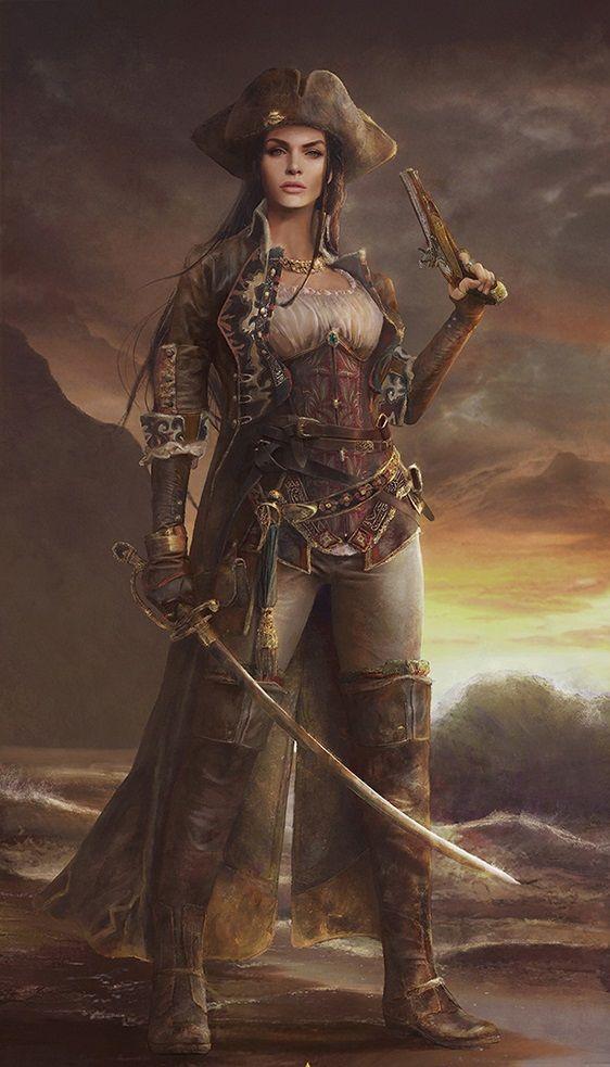 Wild Sea Pirate ll by Eve Ventrue