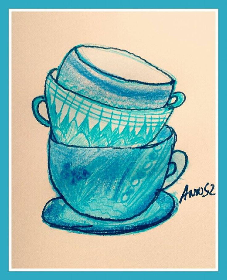 #art #colors #annsz #face #goodtime #pisak #painting #malarstwo #rysunek #draw #szkic #cup #morning