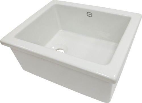 1901 Lab Sink 4 - 460 x 365 x 200 mm - Including Plug & Waste
