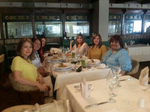 Almuerzo de cumpleaños de Alba Lucia