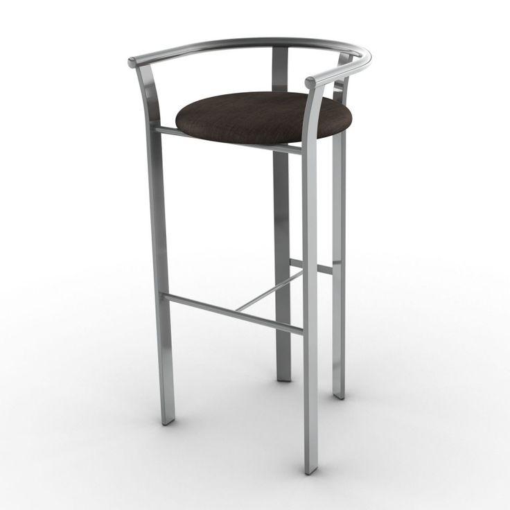 amisco 40465 lolo bar stool   lowe's canada within metal bar stools canada At Dallas