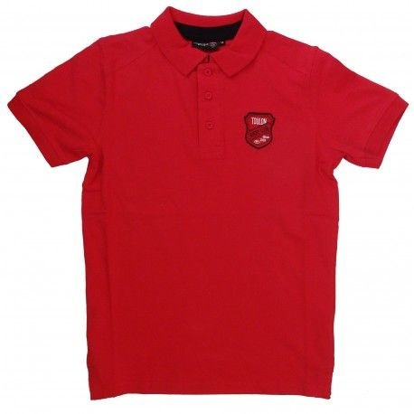 Polo Rugby Blason Rouge Homme / RC Toulon