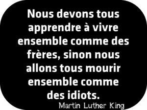 Monsieur Martin Luther King