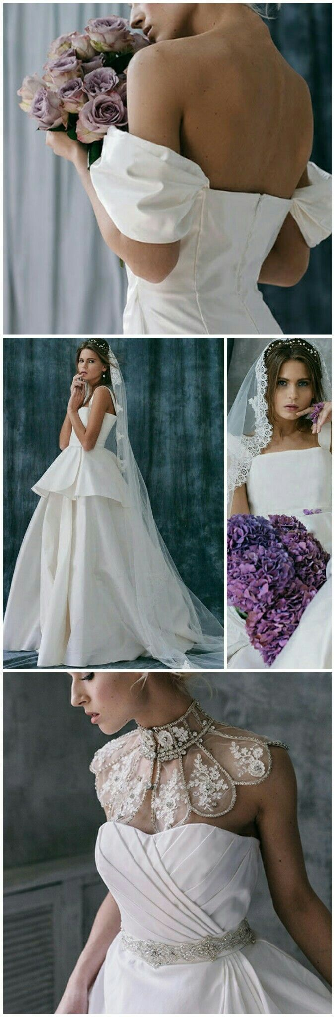 Wedding dresses of rich taffeta by designer Victoria Spirina https://www.etsy.com/ru/shop/VICTORIASPIRINA