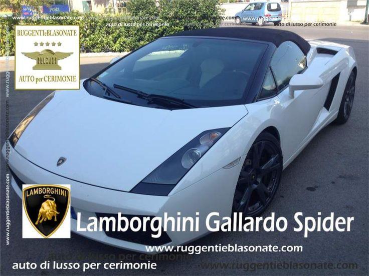 Lamborghini Gallardo per Matrimoni
