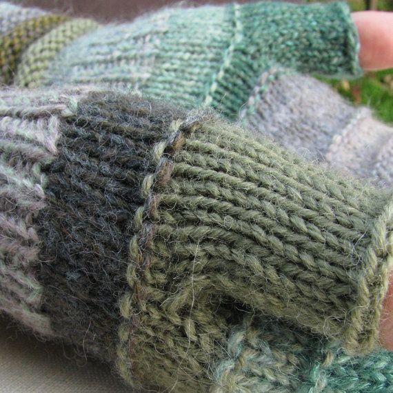 Verkauf blau-grün wie die grüne Achate Fingerlose. von dwarfs