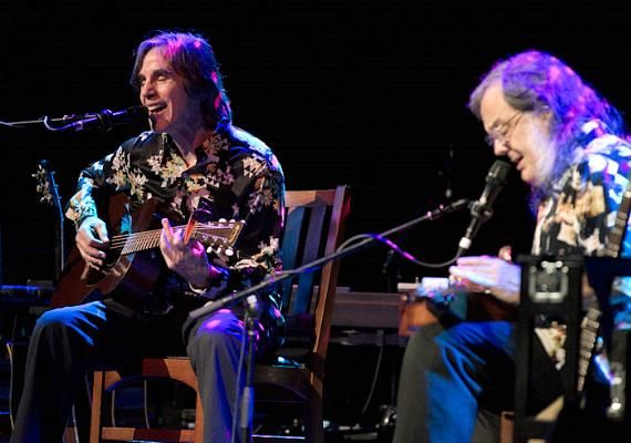 Jackson Browne and David Lindley