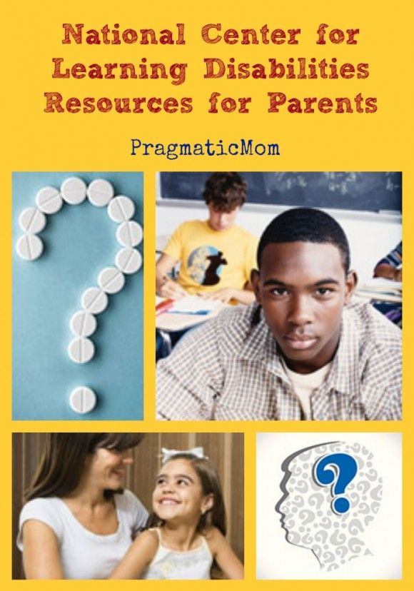 National Center for Learning Disabilities Resources for Parents :: PragmaticMom  #ADD #ADHD #IEP