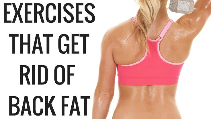 Exercises that Get Rid of Back Fat and Bra Overhang - Christina Carlyle... these look do-able, and she has a Blog at her own website with exercises for everything with detailed instructions. http://www.christinacarlyle.com/exercises-that-get-rid-of-back-fat-and-bra-overhang/