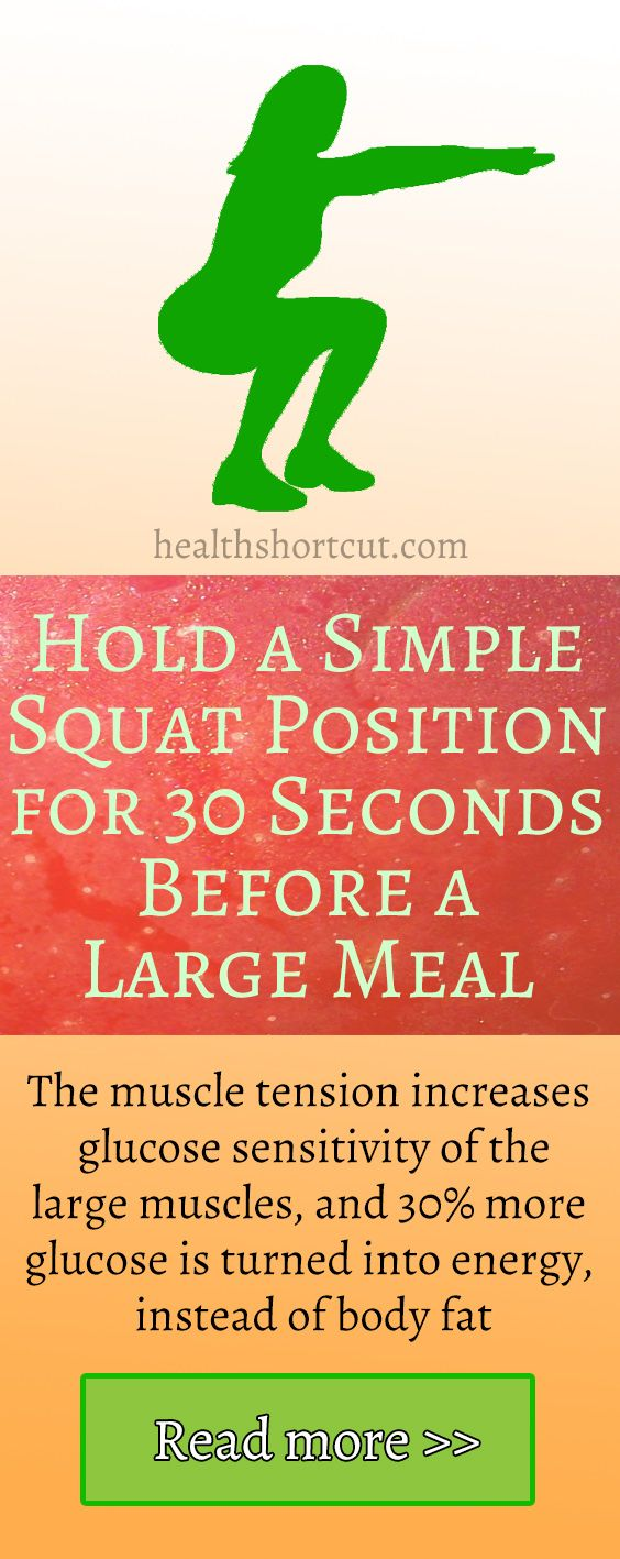 Just 30 Seconds of Muscle Tension Before a Meal Reduces Fat Storage
