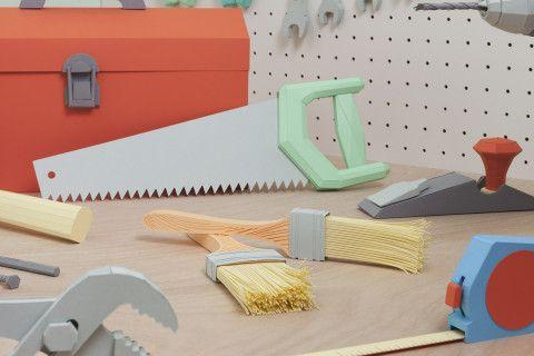 REVERBERE , papercraft, saw