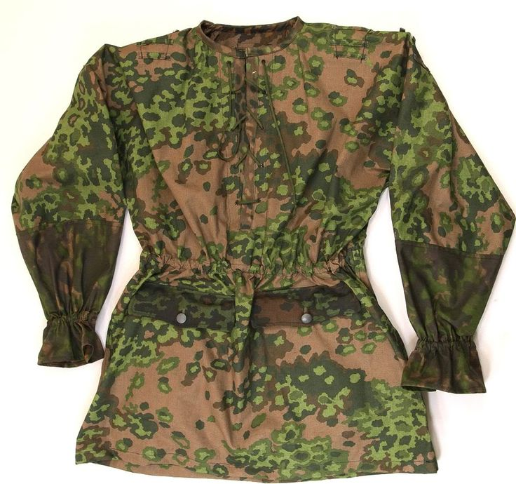 waffen ss | one of the several waffen ss smock patterns