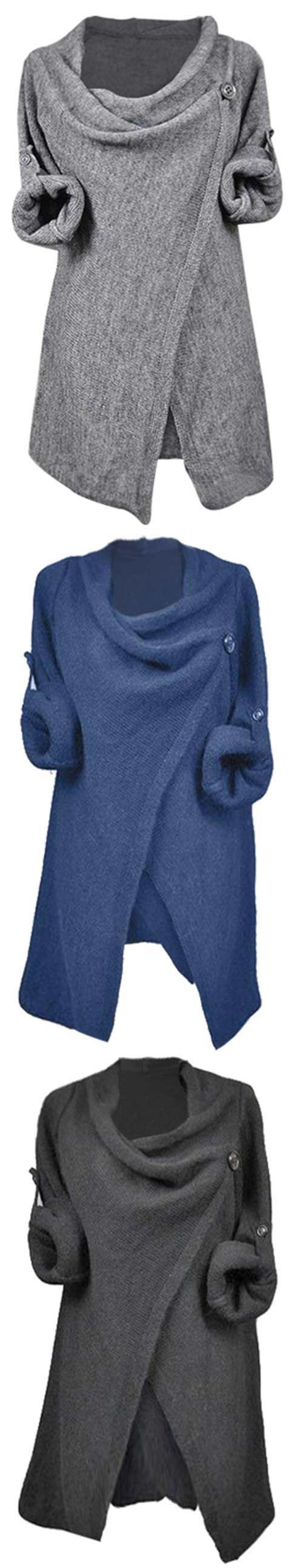 Warm up for incoming fall with $26.99 Only! Casual style makes you easy and comfy in solid color. Beautifully crafted, this piece is the perfect addition to your wardrobe. You need it at Cupshe.com