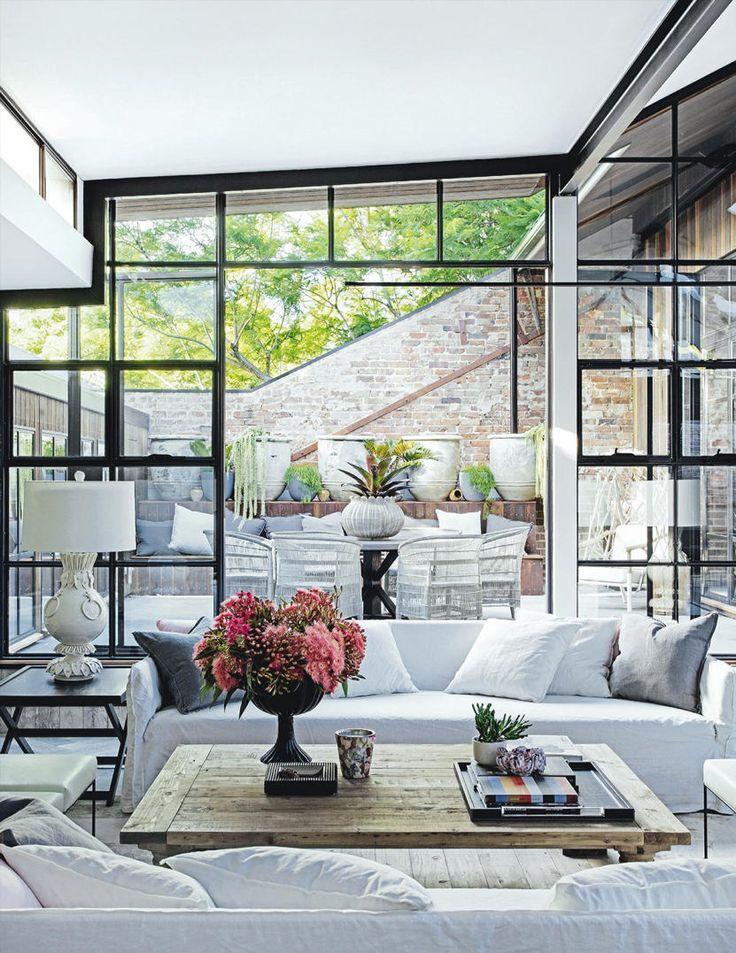 boho chic spaces windows frames wohnung design. Black Bedroom Furniture Sets. Home Design Ideas
