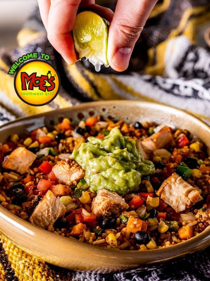 Moe S Southwest Grill Dairy Free Menu Items Other Allergen Notes In 2021 Seasoned Rice Recipes Moe Southwest Grill Dairy Free