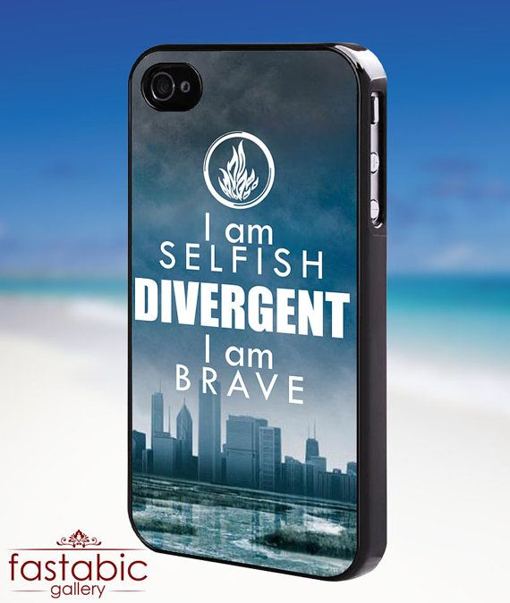 Divergent quotes    iPhone 4/4s/5/5s/5c Case  by fastabicgalerry, $15.00