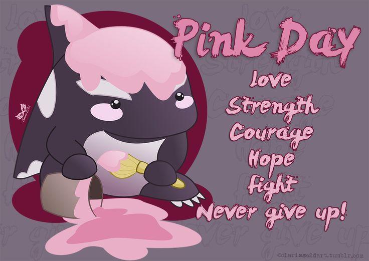 [Guild Wars 2 - FanArt ] PinkDay Quaggan by Clarisse2DArt.deviantart.com on @DeviantArt