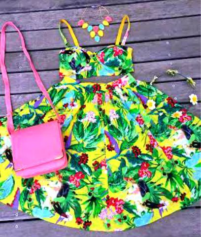 Just fresh into store! doesn't this outfit just make you want to go on a picnic? <3